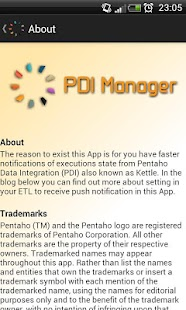 PDI Manager- screenshot thumbnail