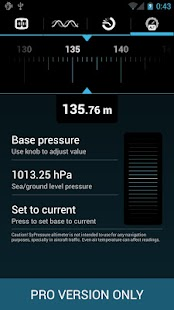 SyPressure Pro (Barometer)- screenshot thumbnail