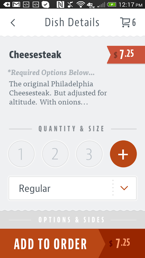 D'Angelo's Deli- screenshot