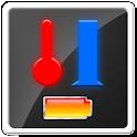 溫度計 濕度計 icon