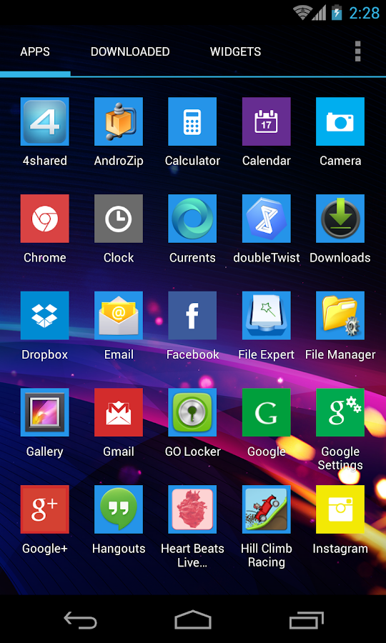 WP8 Theme - screenshot