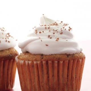 Cappuccino-Chocolate Cupcakes.