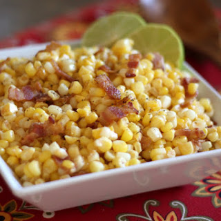 Southwest Corn Skillet with Chili and Lime