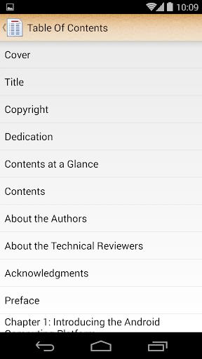 ePub Reader for Android  screenshots 4