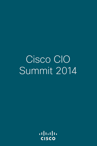 Cisco CIO Summit EMEAR