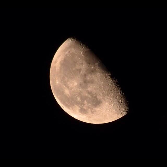 I don't shoot the moon a lot but when I do I get a bad ass shot. by Nik Atkins - Landscapes Starscapes