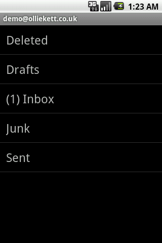 Mail Access 2010 for Outlook - screenshot