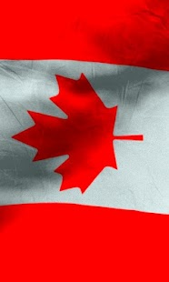 Canada flag free livewallpaper- screenshot thumbnail