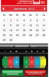 IG BCE Schichtkalender BASF SE - screenshot thumbnail
