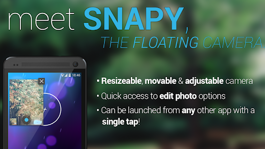 Snapy, The Floating Camera v1.1.9.1