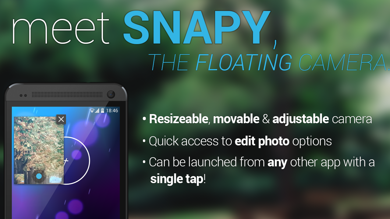 Snapy, The Floating Camera- screenshot