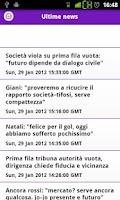 Screenshot of Fiorentina.it