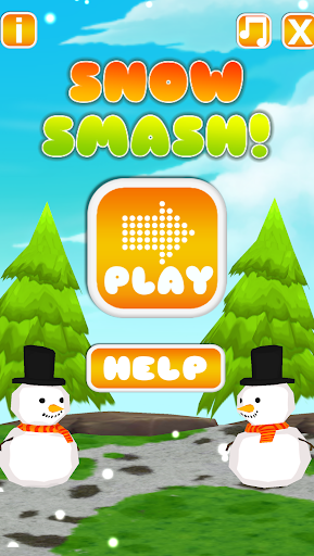 Snow Smash Ball Tossing Game