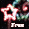 Neon Firework Free LWP icon