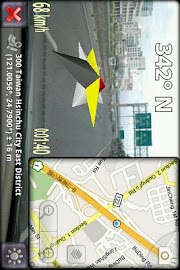 3D Compass Pro (for Android 2) Screenshot 2