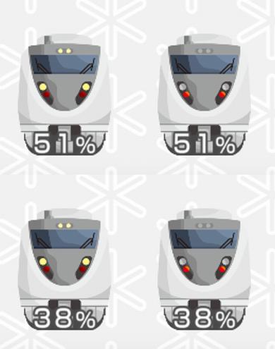 鉄道日本100系 鉄道電池残量ウィジェット
