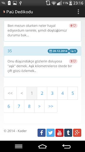 Paü Dedikodu app (apk) free download for Android/PC/Windows screenshot