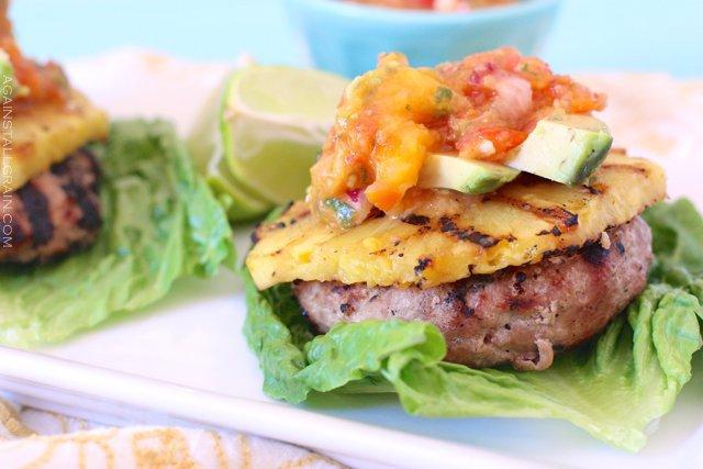 Hawaiian Turkey Burgers Recipe