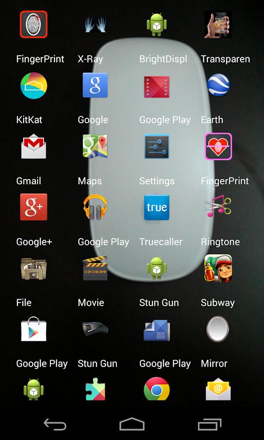 Transparent Screen Free - screenshot