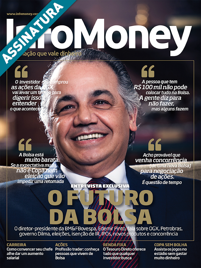 Revista Infomoney- screenshot