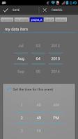 Screenshot of Trackit Notebook