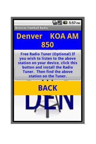 免費運動App|Denver Football Radio|阿達玩APP