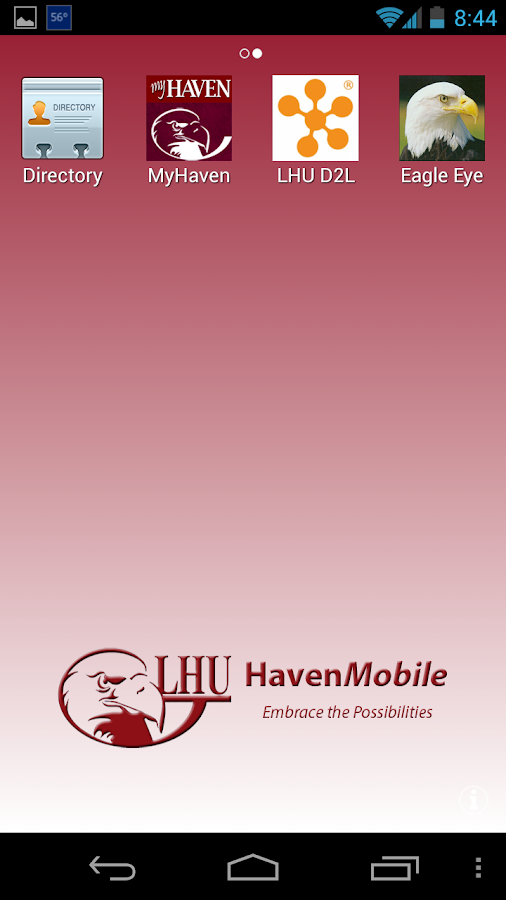 HavenMobile - screenshot