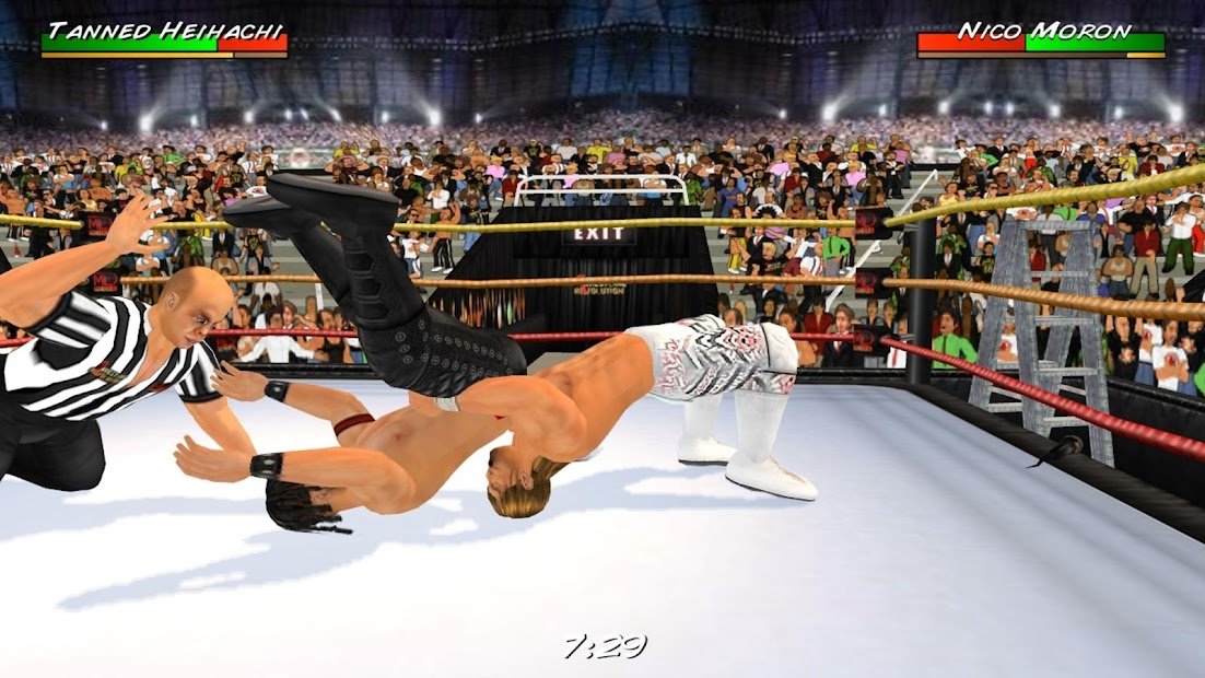 Wrestling Revolution 3D screenshot 9