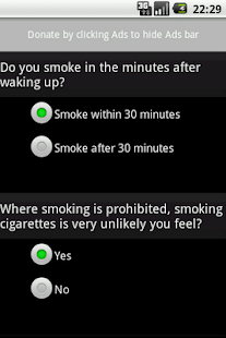 CigarettesDependenceTest - screenshot thumbnail
