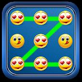 Emoti Pattern Lock Theme