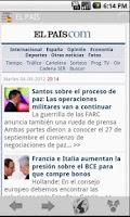 Screenshot of News & Magazines in Spain