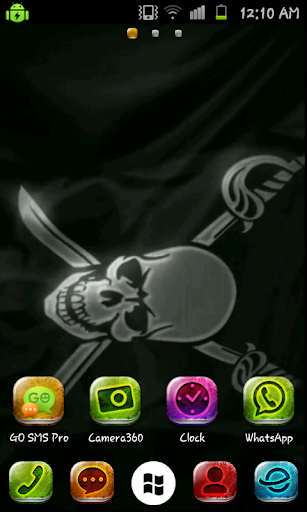 Black Flag Live Wallpaper