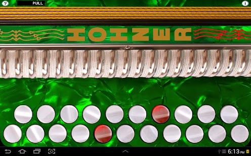 Hohner C#/D Button Accordion - screenshot thumbnail