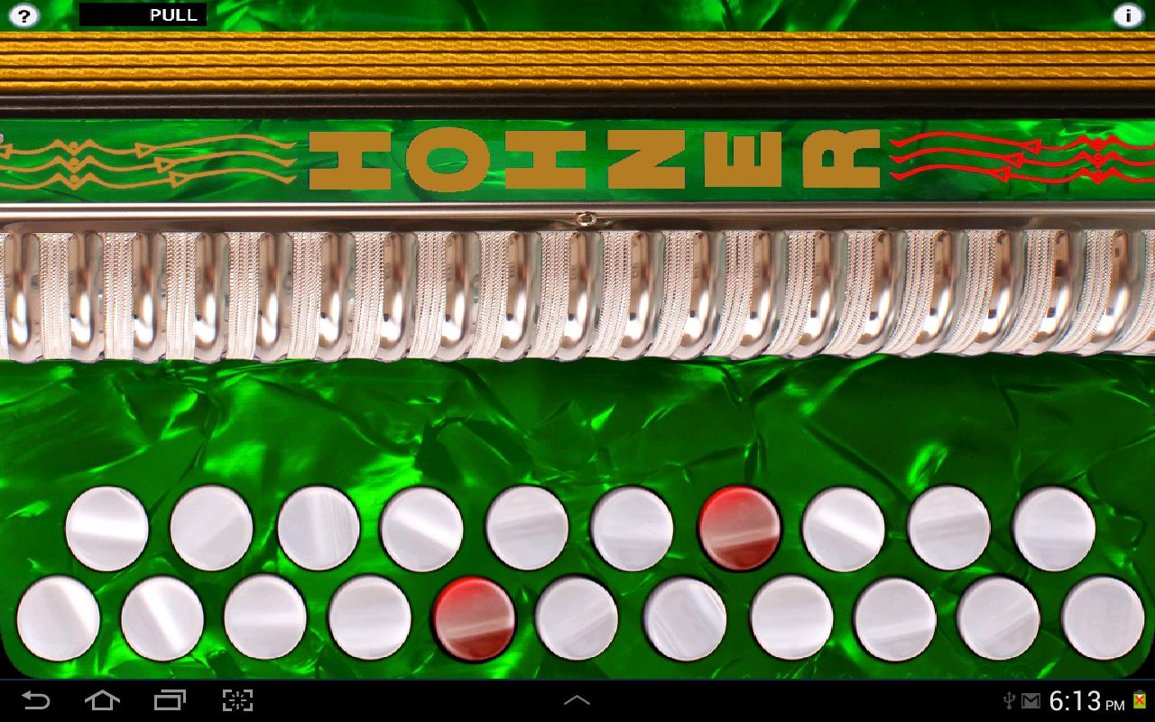 Hohner C#/D Button Accordion - screenshot