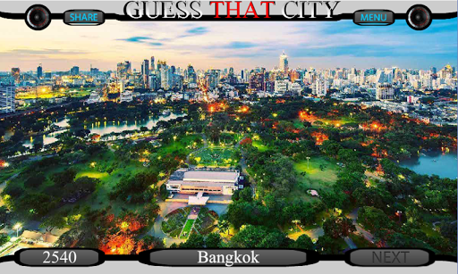 Guess The City