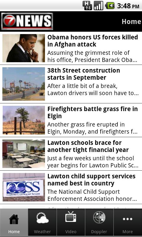 7 News – Lawton, OK - screenshot