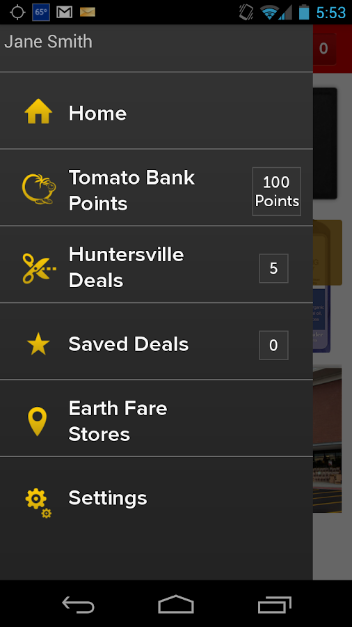 Get Deals from Earth Fare - screenshot