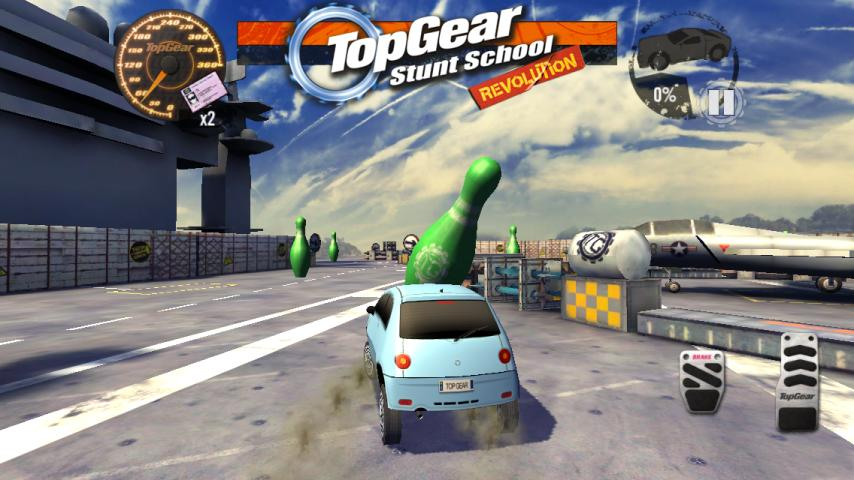 Top Gear: Stunt School SSR screenshot #5