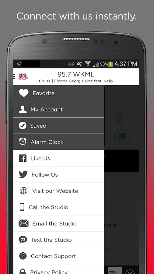 95.7 WKML- screenshot
