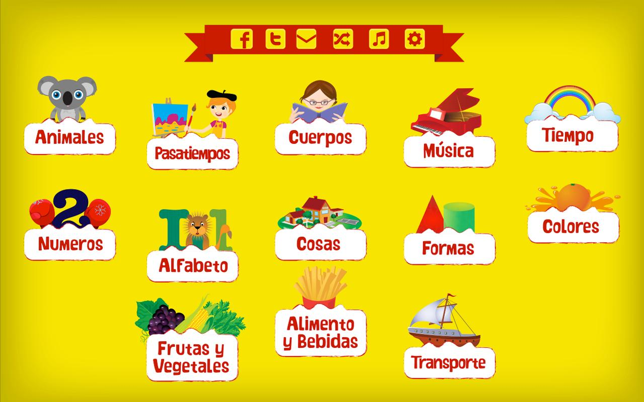 Learn Spanish for Kids - screenshot