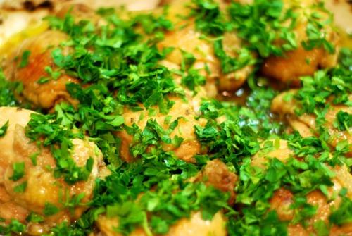 David Lebovitz's Super Easy Roast Chicken with Caramelized Shallots (Whole30 Style)