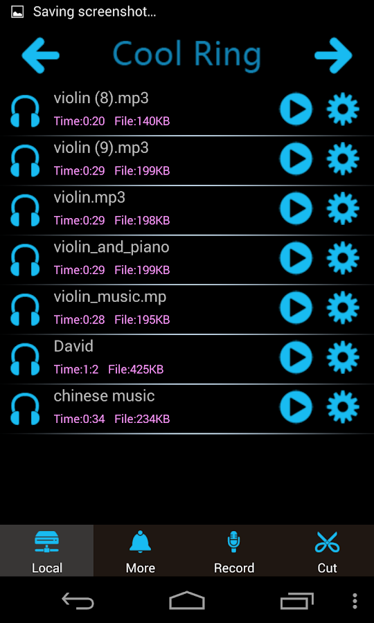 Weapon Sound Ringtones - screenshot
