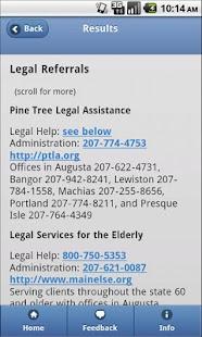 Legal Aid Finder- screenshot thumbnail
