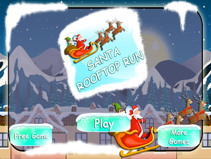 Christmas Santa Rooftop Run
