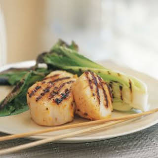 Five-Spice Grilled Scallops.