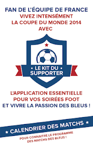 Kit Supporter France EURO 2016 Capture d'écran