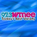 97.3 WMEE Today's Best Variety logo