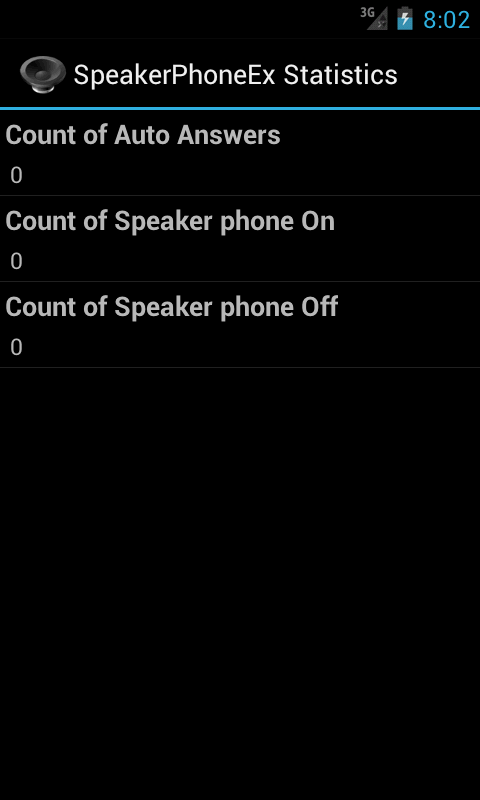 SpeakerPhone Ex- screenshot