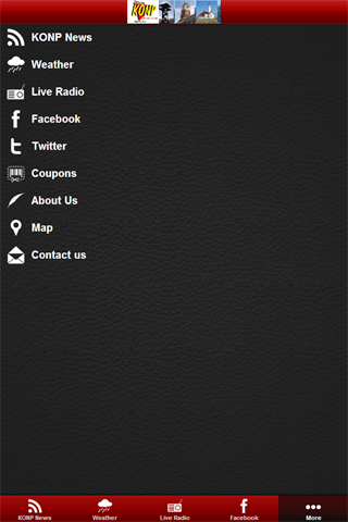 Newsradio KONP - screenshot