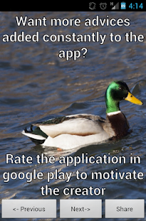 Actual Advice Mallard- screenshot thumbnail